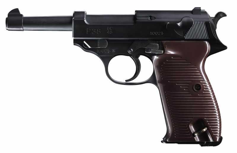 1)огнестрельный и легендарный пистолет 3-его рейха р 38