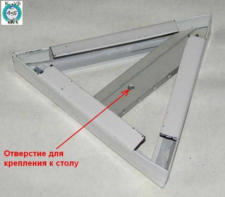 8)Штатив для крепления оптики в тире