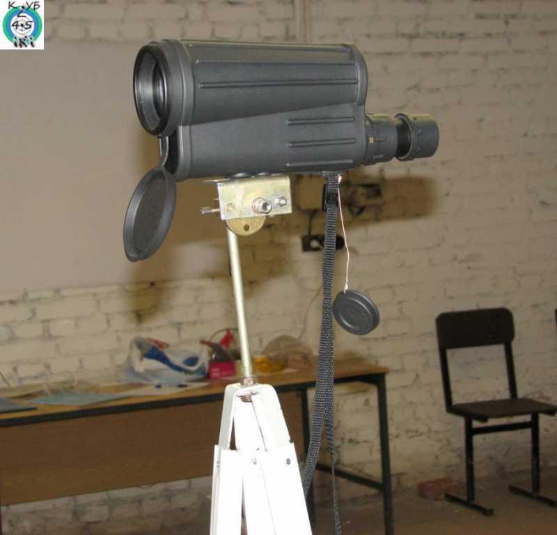 14)Штатив для крепления оптики в тире