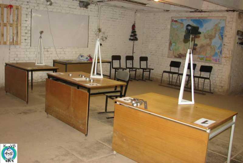15)Штатив для крепления оптики в тире