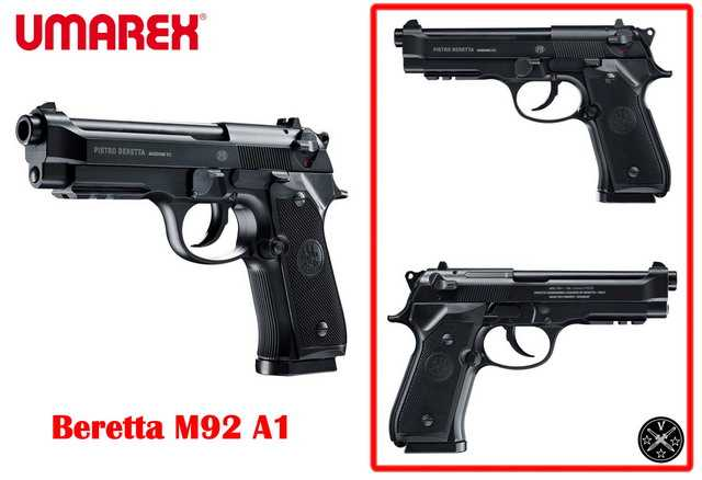 Новый пневматический пистолет Beretta M92A1