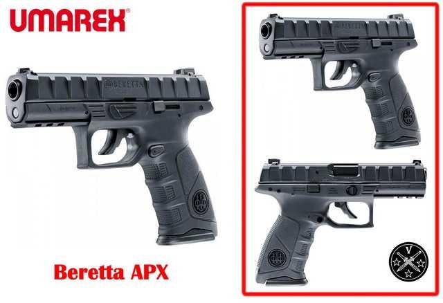 Новый пневматический пистолет от Umarex - Beretta АPX
