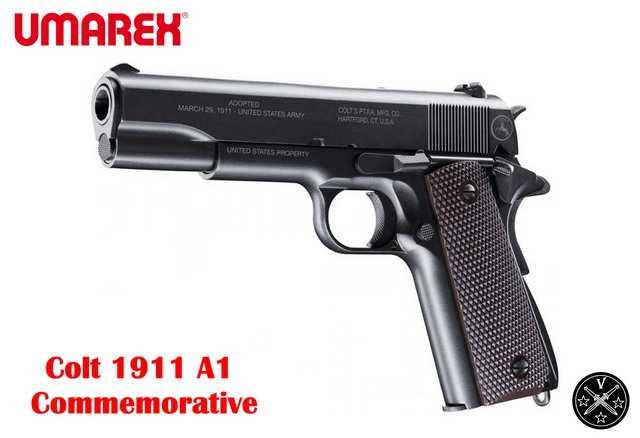 Коллекционный пневматический пистолет Umarex Colt 1911 A1 Commemorative