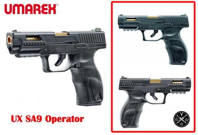 Новый тип пневматики Umarex - пистолет UX SA9 Operator Edition