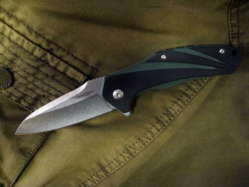 3)Нож, которым я доволен