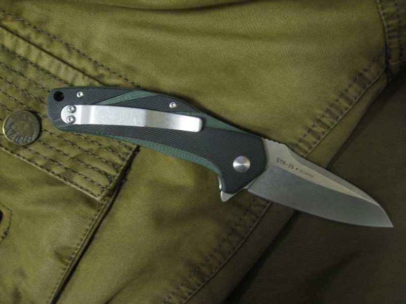4)Нож, которым я доволен