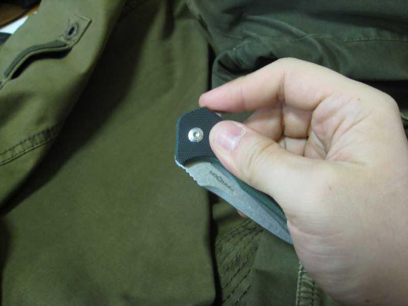 6)Нож, которым я доволен