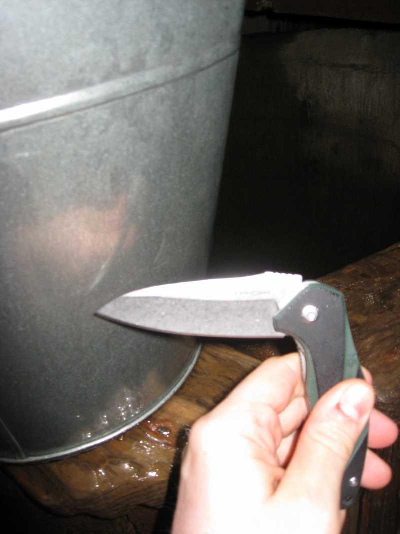 8)Нож, которым я доволен