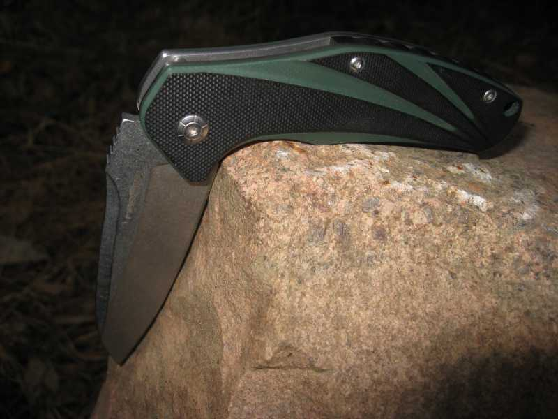 12)Нож, которым я доволен