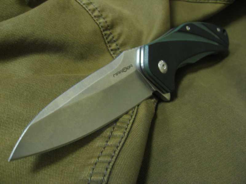 13)Нож, которым я доволен