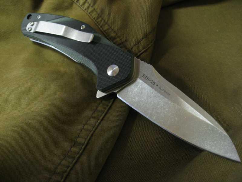 14)Нож, которым я доволен