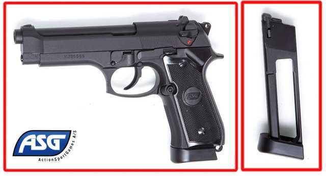 Новый пневматический пистолет ASG X9 CLASSIC