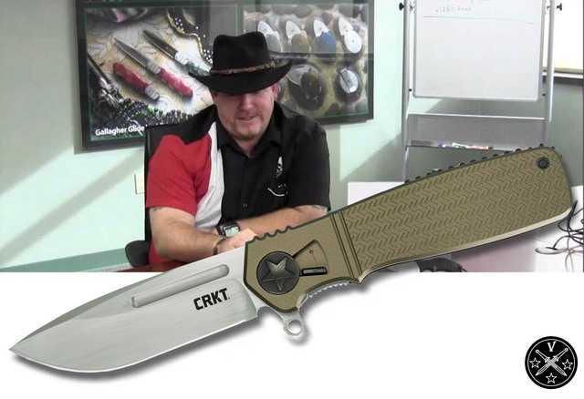 Новый нож Кена Ониона CRKT Homefront