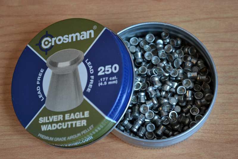 9)Пневматические пули Crosman.