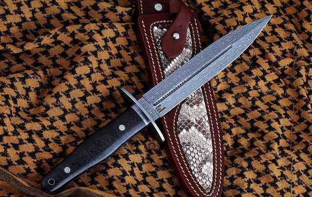 Нож с фиксированным клинком Dragon Claw – SUPER HITMAN47