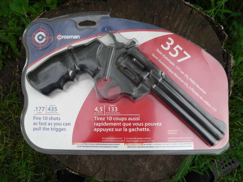 1)Crosman 357