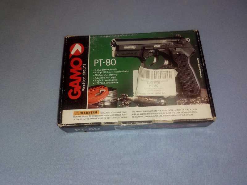 3)GAMO РТ-80