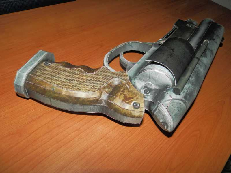 20)Бумажный пистолет
