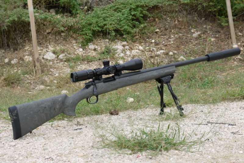 3)Нарезное оружие Remington