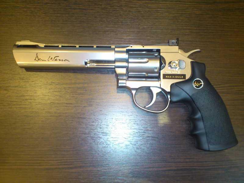 2)Обзор револьвера ASG Dan Wesson 6