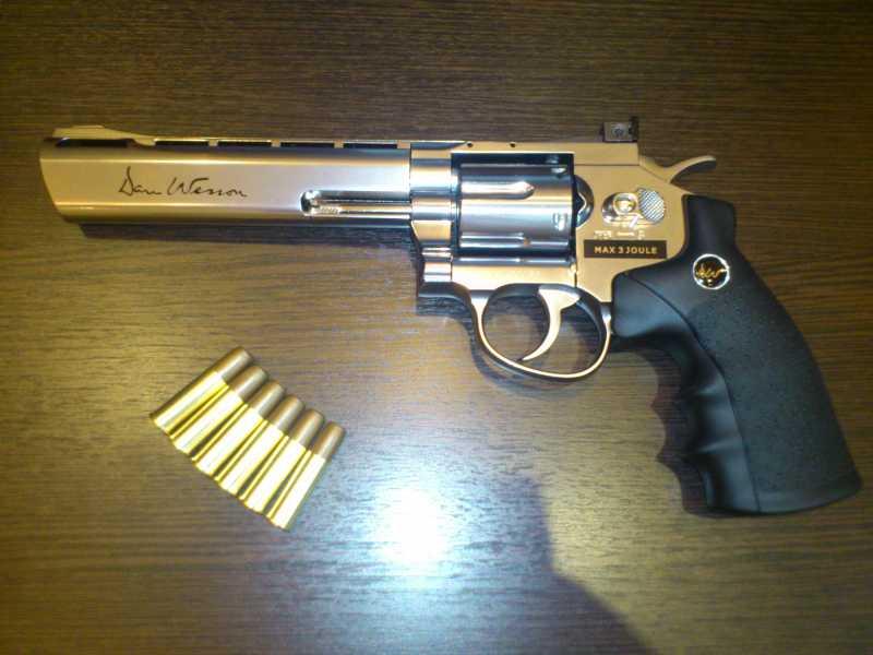3)Обзор револьвера ASG Dan Wesson 6