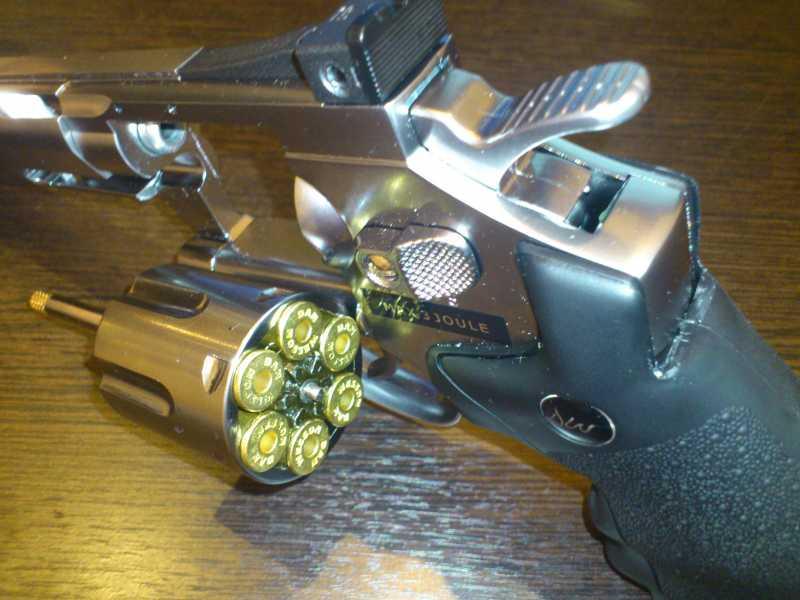 4)Обзор револьвера ASG Dan Wesson 6