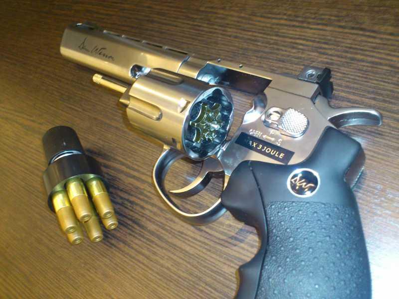 5)Обзор револьвера ASG Dan Wesson 6