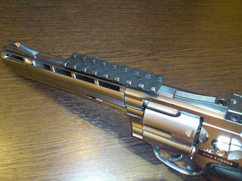 7)Обзор револьвера ASG Dan Wesson 6