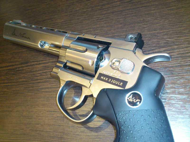 8)Обзор револьвера ASG Dan Wesson 6