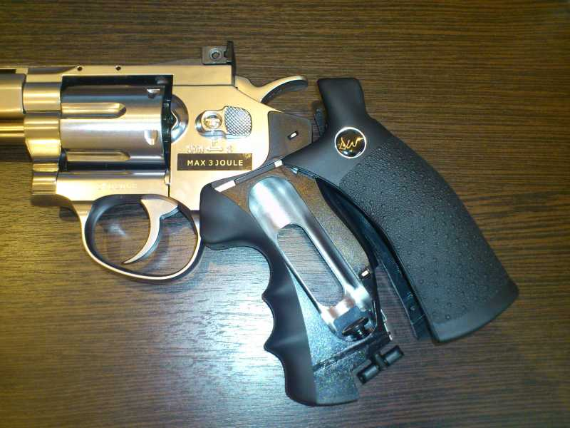 9)Обзор револьвера ASG Dan Wesson 6