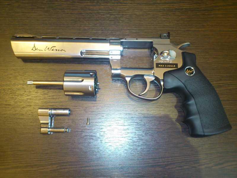 10)Обзор револьвера ASG Dan Wesson 6
