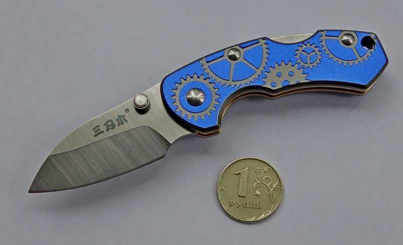 4)Симпатичный малыш.  Краткий обзор ножа