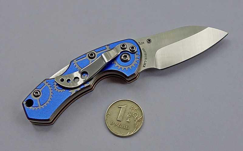5)Симпатичный малыш.  Краткий обзор ножа