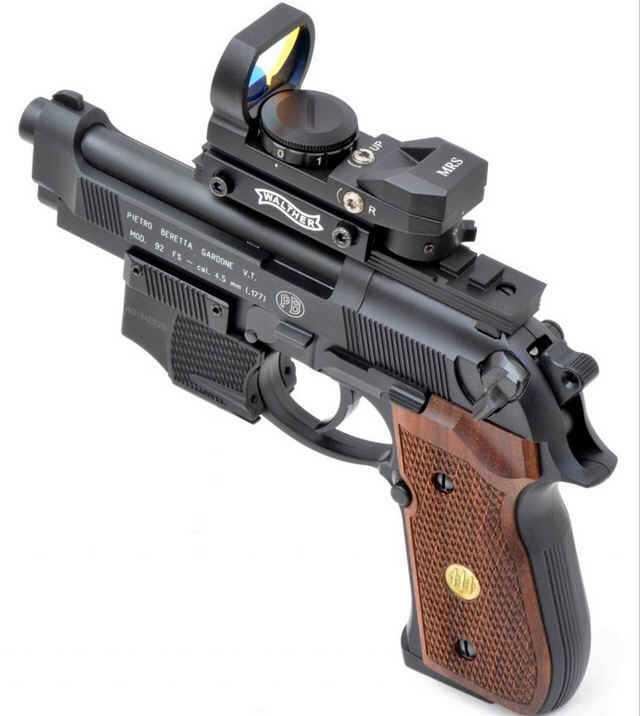 3)Сравнение пулевой и шаровой версий пневматических пистолетов Umarex 92-ой серии