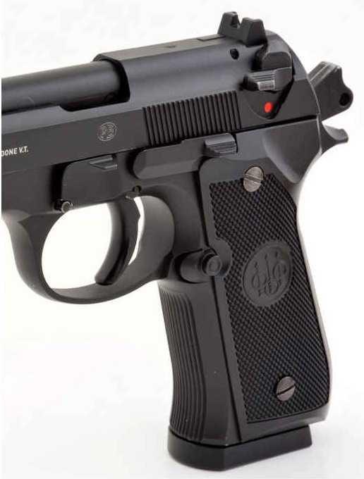 8)Сравнение пулевой и шаровой версий пневматических пистолетов Umarex 92-ой серии