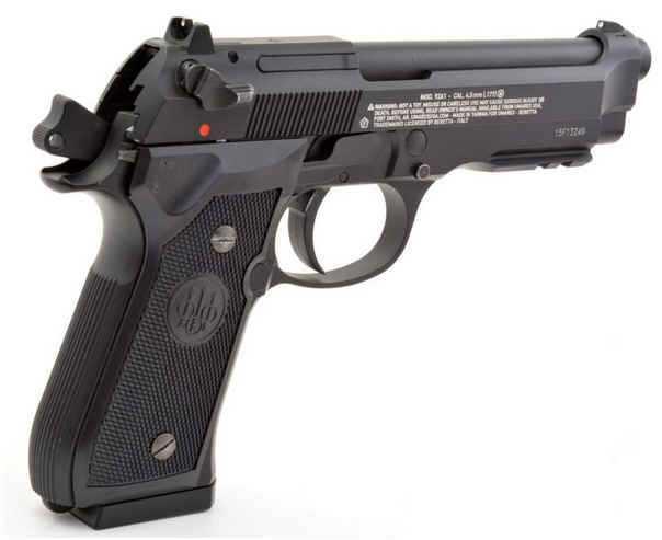 9)Сравнение пулевой и шаровой версий пневматических пистолетов Umarex 92-ой серии