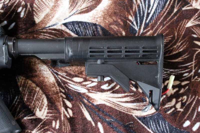 6)Страйкбольная винтовка M4A1 D-Boys