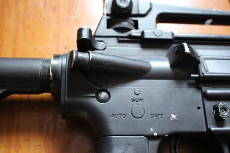 10)Страйкбольная винтовка M4A1 D-Boys
