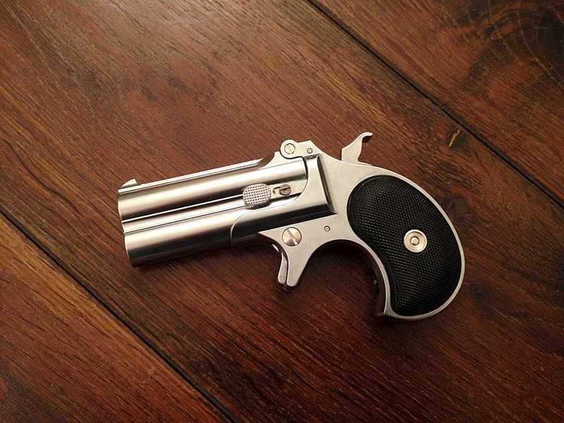 3)Маленькая статья о маленьком пистолете