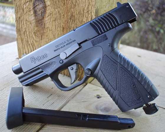 4)Пневматический пистолет ASG BERSA BP 9CC
