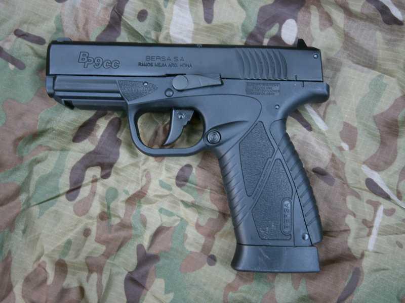 6)Пневматический пистолет ASG BERSA BP 9CC