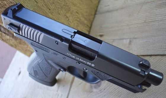 5)Пневматический пистолет ASG BERSA BP 9CC