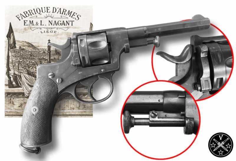 4)Легендарный Наган - от огнестрела до пневматики ч.1
