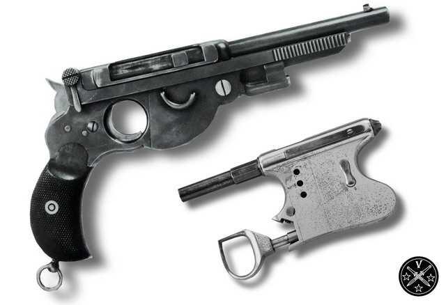 12)Легендарный Наган - от огнестрела до пневматики ч.1
