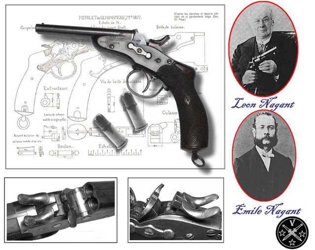 3)Легендарный Наган - от огнестрела до пневматики ч.1