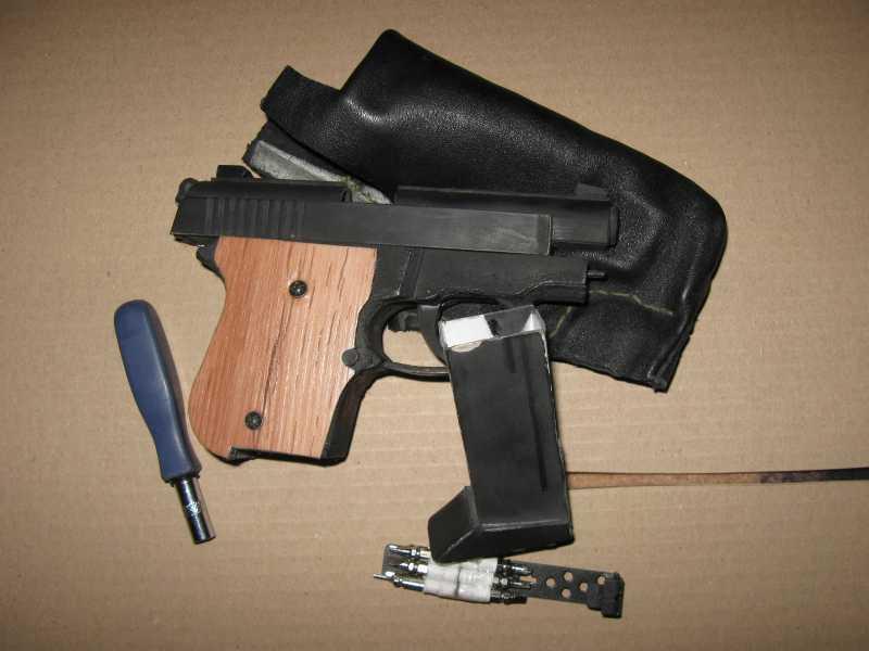 12)Бумажный пистолет