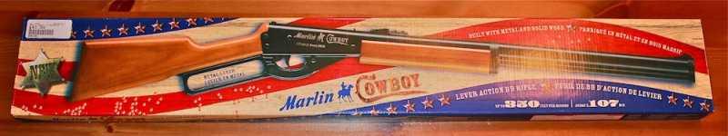 2)Crosman Marlin Cowboy Lever