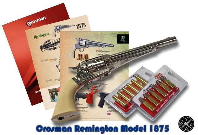 1)Третий пневмат из истории Дикого Запада – Remington 1875