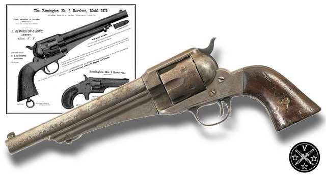 3)Третий пневмат из истории Дикого Запада – Remington 1875