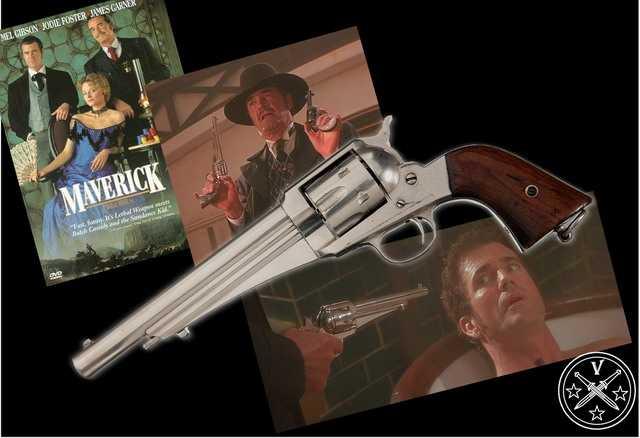 4)Третий пневмат из истории Дикого Запада – Remington 1875